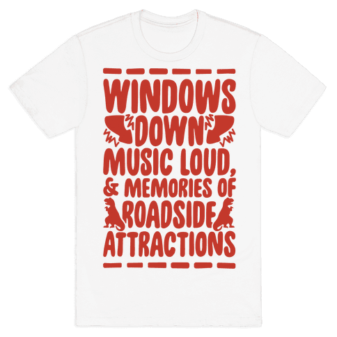 Roadside Attractions Mens T-Shirt