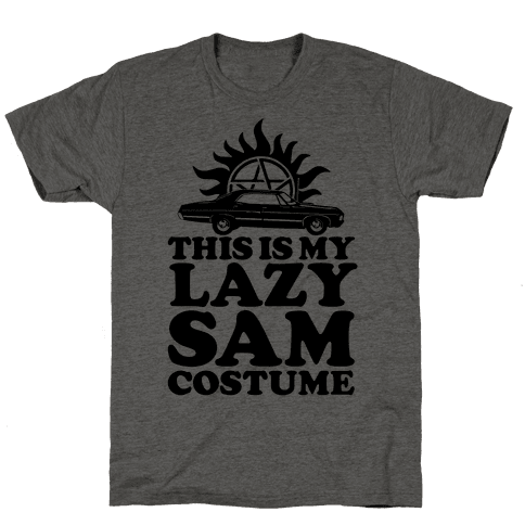 Lazy Sam Costume Mens T-Shirt