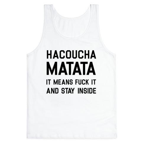 Hacoucha Matata Tank Top