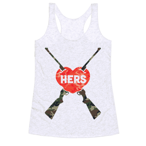 His & Hers Country Loves Racerback Tank Top