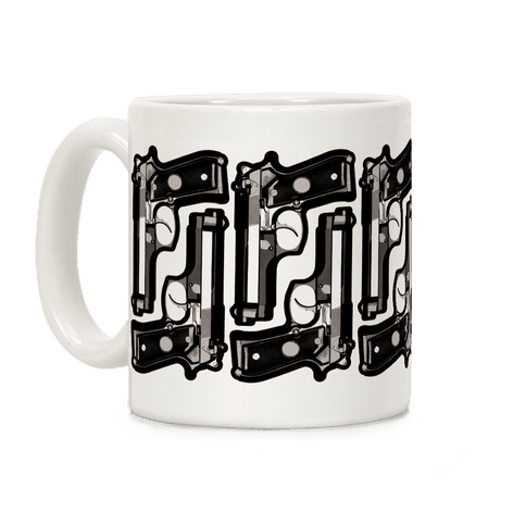 9mm Pattern (Black) Coffee Mug
