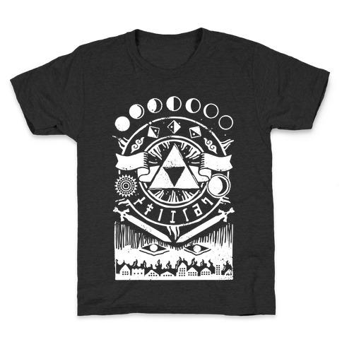 Hyrule Occult Symbols Kids T-Shirt