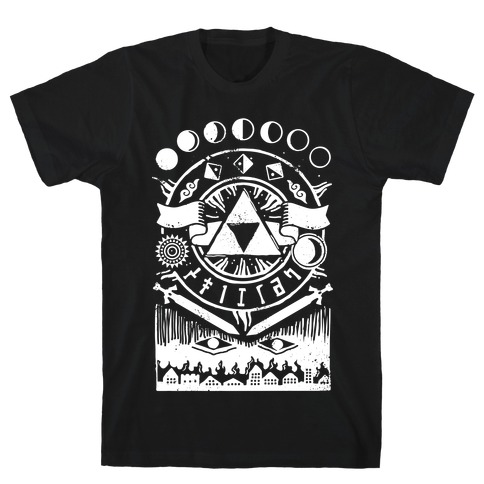 Hyrule Occult Symbols T Shirt Lookhuman