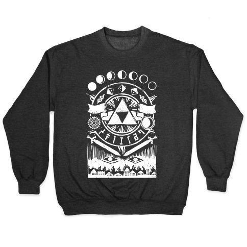 Hyrule Occult Symbols Pullover