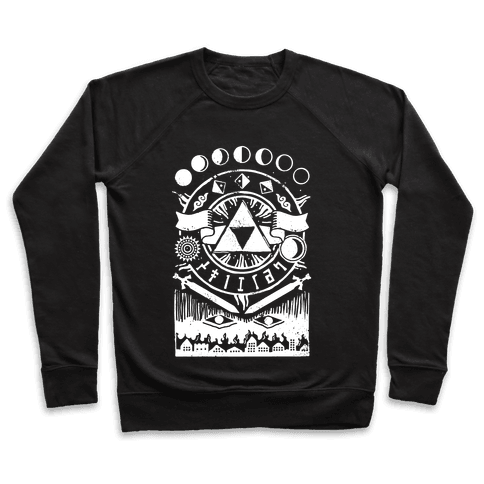 Hyrule Occult Symbols Pullover