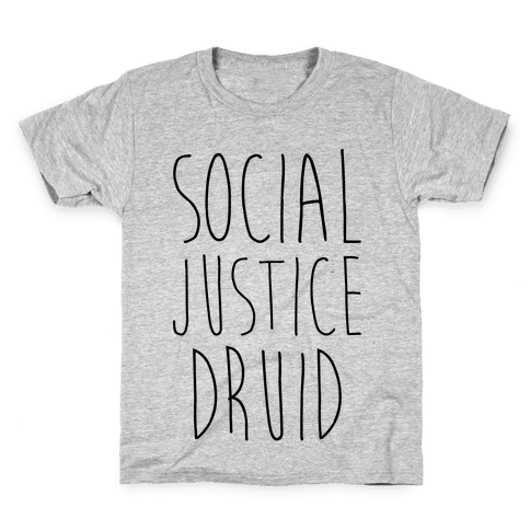 Social Justice Druid Kids T-Shirt