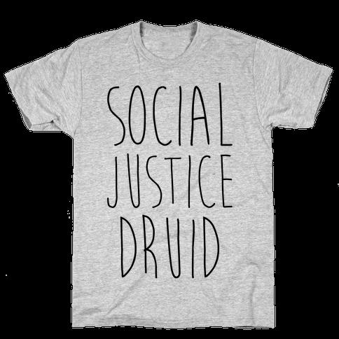 Social Justice Druid Mens T-Shirt