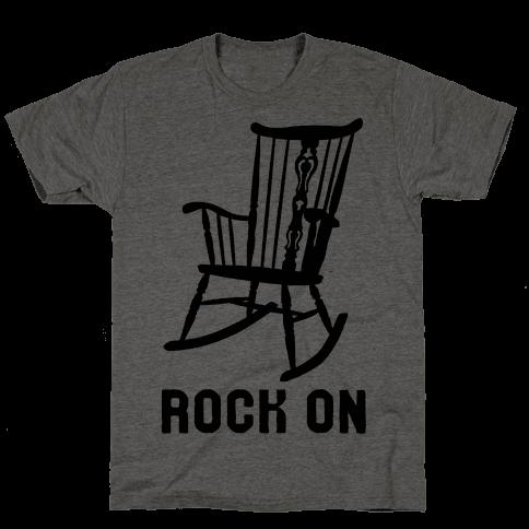 Rock On Rocking Chair Mens T-Shirt
