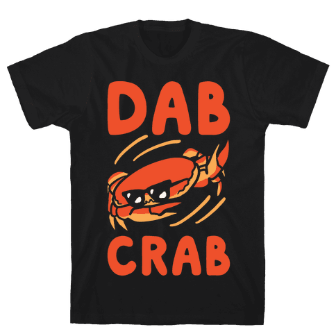 Dab Crab Mens T-Shirt
