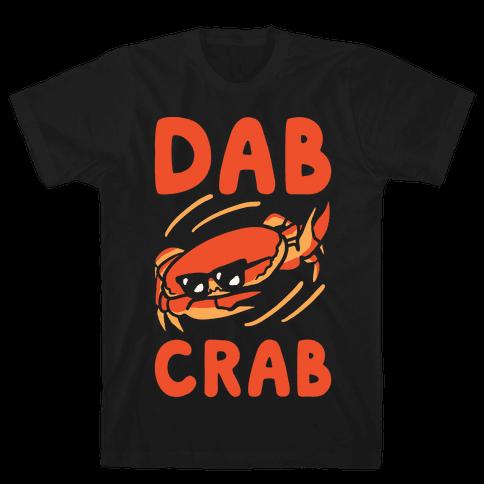 Dab Crab Mens T-Shirt