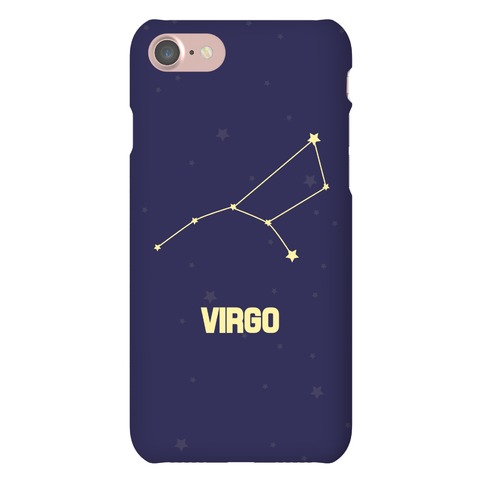 Virgo Horoscope Sign Phone Case