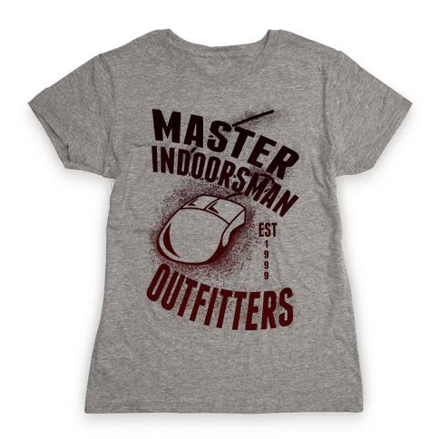 Master Indoorsman Outfitters Womens T-Shirt