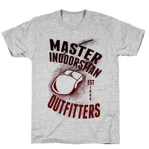 Master Indoorsman Outfitters Mens T-Shirt