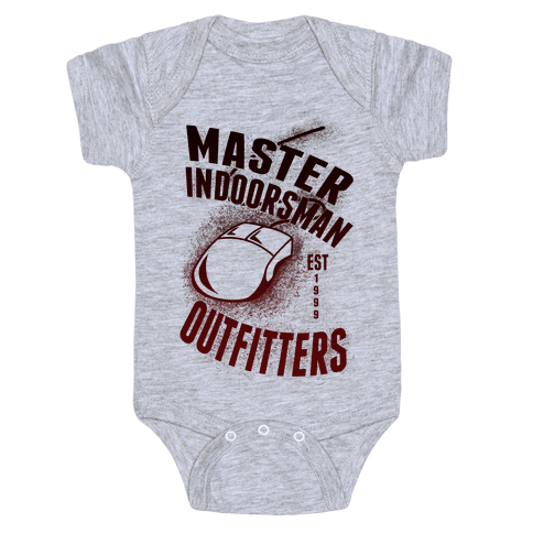 Master Indoorsman Outfitters Baby Onesy
