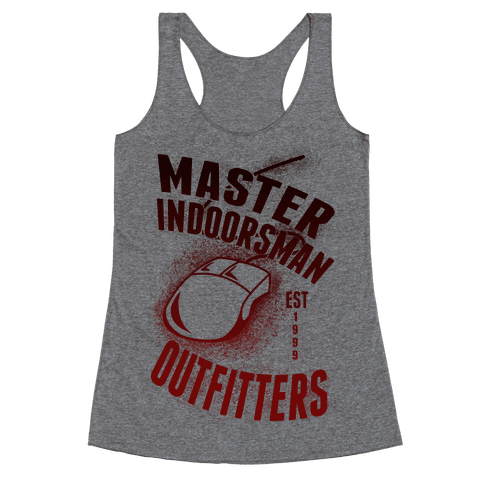 Master Indoorsman Outfitters Racerback Tank Top