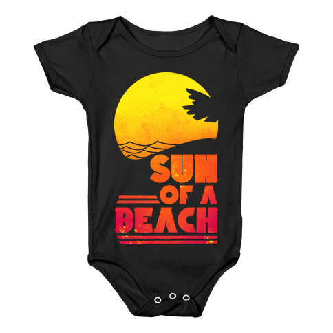 Sun of a Beach Baby Onesy