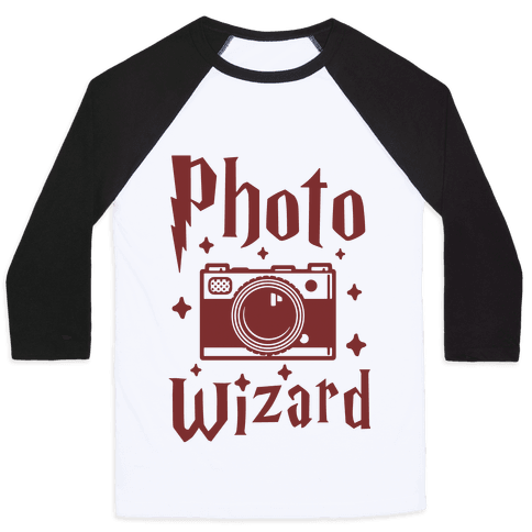 Photo Wizard Baseball Tee