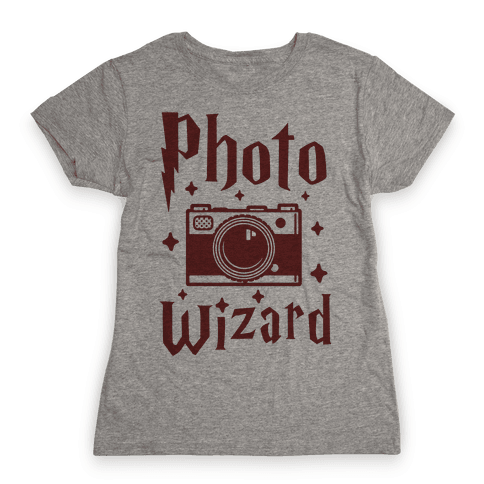 Photo Wizard Womens T-Shirt