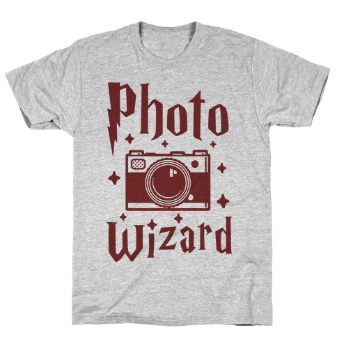 Photo Wizard Mens T-Shirt