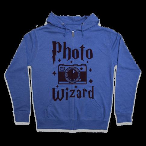 Photo Wizard Zip Hoodie