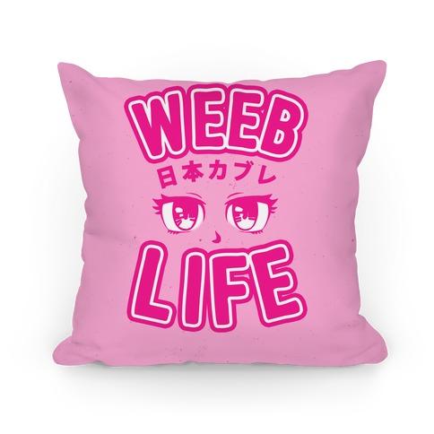 Weeb Life (Thug Life Parody) Pillow