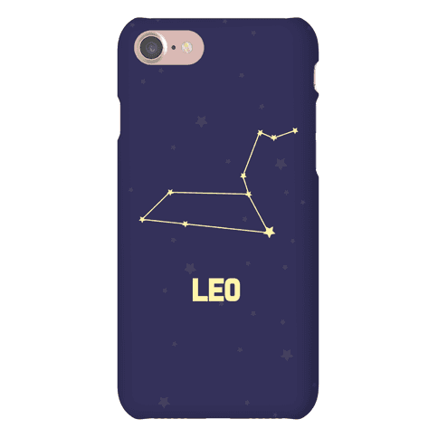 Leo Horoscope Sign Phone Case