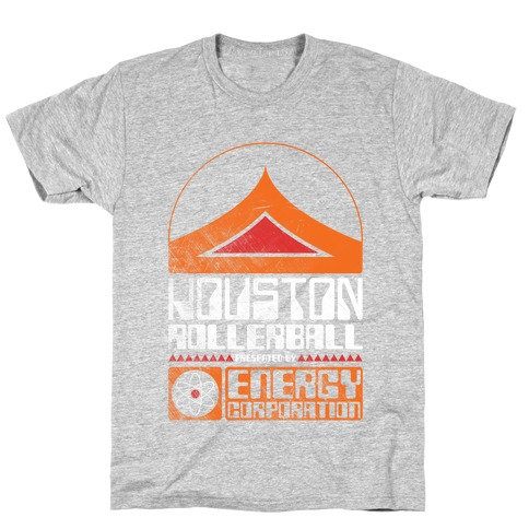 Houston Rollerball Team Mens T-Shirt