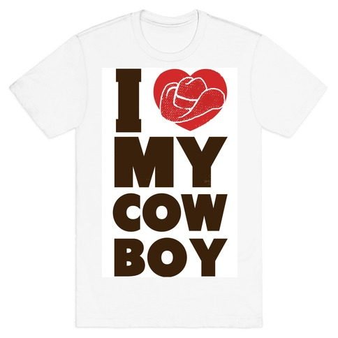 I Love My Cowboy T-Shirt