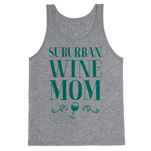 Suburban Wine Mom Tank Top