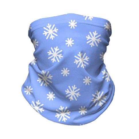 Snowflake Pattern Neck Gaiter
