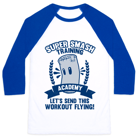 Super Smash Training Academy Baseball Tee