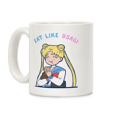 Eat Like Usagi Coffee Mug