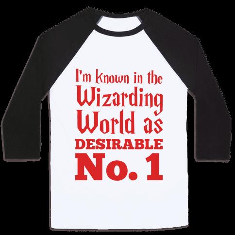Desirable No. 1 Baseball Tee