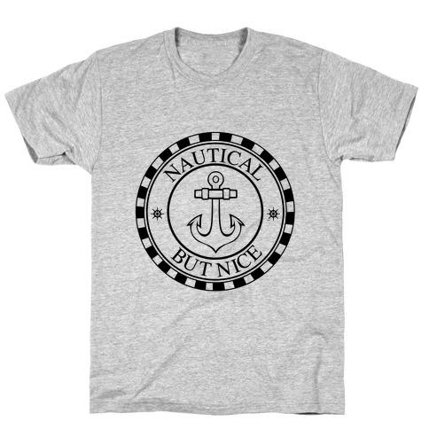 Nautical But Nice Mens/Unisex T-Shirt