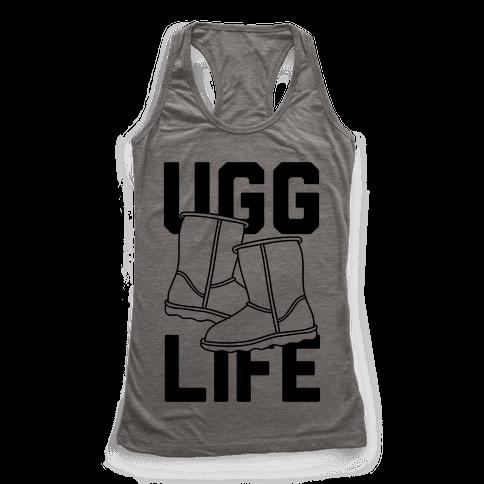 Ugg Life Racerback Tank Top