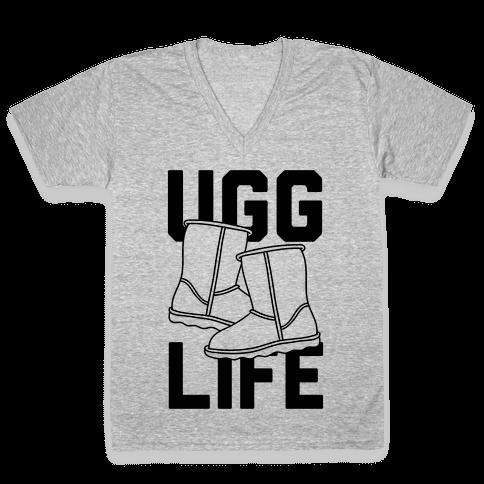 Ugg Life V-Neck Tee Shirt