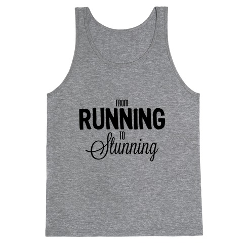 From Running to Stunning Tank Top