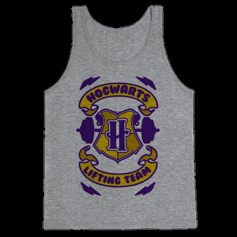 Hogwarts Lifting Team Tank Top