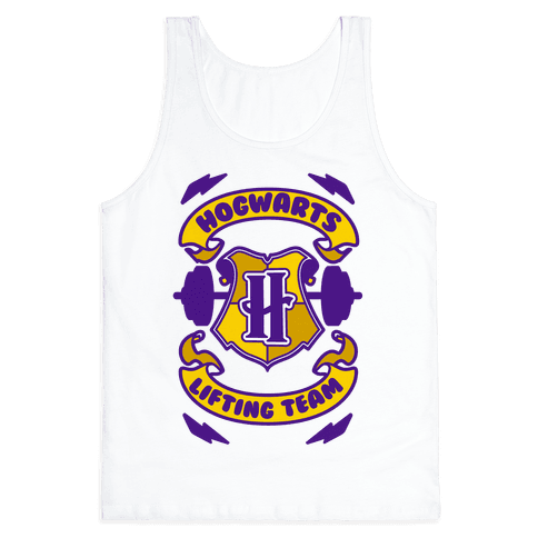 Hogwarts Lifting Team Tank Top