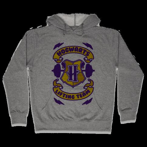 Hogwarts Lifting Team Hooded Sweatshirt