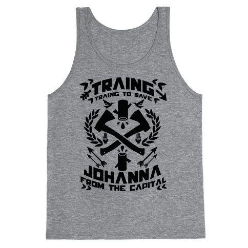 Training to Save Johanna Tank Top