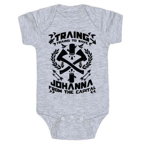 Training to Save Johanna Baby Onesy