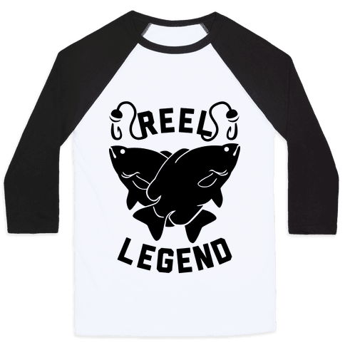 Reel Legend Baseball Tee