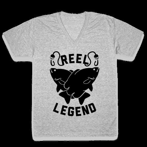 Reel Legend V-Neck Tee Shirt