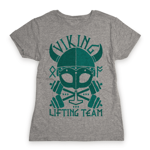 Viking Lifting Team Womens T-Shirt