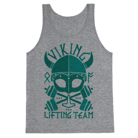 Viking Lifting Team Tank Top