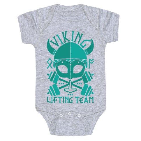9ead3f74 Viking Lifting Team Baby One-Piece | LookHUMAN