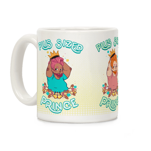 Plus Sized Prince Coffee Mug