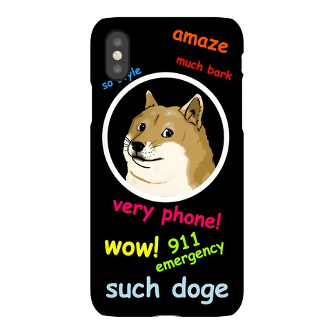 Such Doge Phone Case