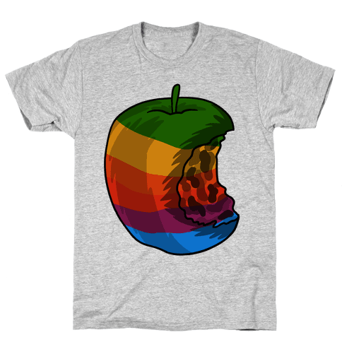 ROTTEN APPLE Mens T-Shirt